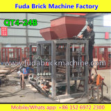 ナイジェリア半自動小さいCocnreteの空のブロック機械価格