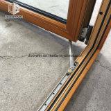 Madeira de Carvalho Alu-Clad empurre a janela Casement Francês