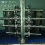 Cubo e a Plataforma Lateral/Fio Cunha ramo lateral do filtro de água