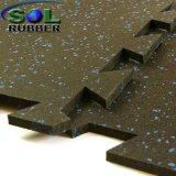 Высокая плотность из переработанных материалов EPDM блокировка спортзал резиновый коврик на полу