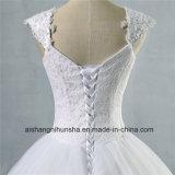 Свадебные платья в стакан с кружевом рельефная A-Line свадебные платье
