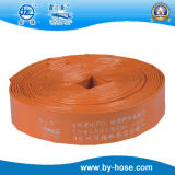 Coloque deitado de plástico de PVC flexível do tubo de borracha de água para Fazenda/jardim