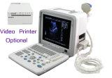 La FDA de la CE marquent le Portable scanner d'ultrason de 12 pouces avec l'enregistreur thermique visuel de Sony de la sonde 3.5MHz convexe facultatif - Javier