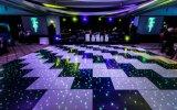 Disco Свадебное 20FT*20FT Светодиод черного и белого звездным танцевальном зале