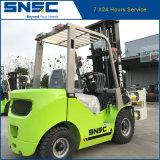 Diesel van China Snsc Vorkheftruck 2.5tons met de Klem van het Broodje van het Document
