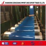 PPGI/PPGL 0.12-1.5mm galvanisé Acier recouvert de couleur dans la bobine
