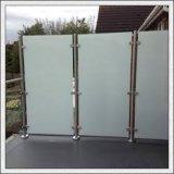 Декоративные конструкции травленого стекла ясности/покрашенного/ультра ясного матированного стекла кисловочного с сертификатом Ce/SGS/ISO