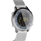 Het hete Verkopen 50meter maakt Slim Horloge Ex18 waterdicht