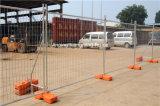 Galvanisierter temporärer Stahlzaun für Aufbau-Gebäude