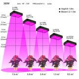 600W 가득 차있는 스펙트럼 높은 수확량 LED는 빛을 증가한다