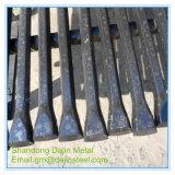 Broca mango varilla B19 B22 B25 de la Barra de orificio hexagonal de acero