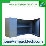 Подгонянная коробка косметического состава картона бумажная