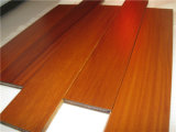 Moistureproof Natural suelos de madera maciza de teca con certificación ISO9001