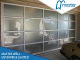高品質Aluminum Profile Tempered Glass DoorかTempered/完全眺め/Frosted/Plexiglass/Glass/Mirror/Transparent/Aluminum Garage Door