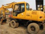 Vente chaude utilisée d'excavatrice à roues par 130W-5 de Hyundai