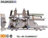 CNC 알루미늄 단면도 두 배 헤드 절단기