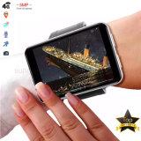 4G Smart Watch Phone men Women GPS Pediometer 2.86 inch scherm 3GB+32GB 5MP camera 2700 mAh batterij, voor Android iOS, zilver