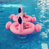 膨脹可能なプールの浮遊物の円のマットレスの水泳のアクセサリの水泳のリングのシート