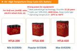Batterij 6V 420ah van het Gel van de Cyclus van China de Diepe voor 48V ZonneMacht