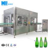 Macchina di rifornimento in bottiglia di piccola capacità automatica vino/dell'acqua scintillante/imbottigliatrice