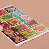 Stickers van de Spiegel van Sinicline Diverse Waterdichte Decoratieve