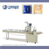 自動枕タイププラスチック食糧パッキング機械パンまたはケーキまたはカスタードパイ包装機械