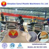 Un revêtement de sol pvc en plastique Spc Making Machine prix carrelage de sol