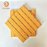 Personnaliser la taille et les couleurs du panneau de bois en bois de l'acoustique