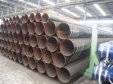 Stahlrohr API-5L ASTM A53 A106 ERW mit schwarze Beschichtung-abgeschrägten Enden und Schutzkappen