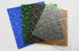 明確なか灰色または青銅色または黄色または赤くまたは青カラー(CP-FP)の3mm-8mmの中国の計算されたパタングラス