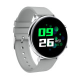 Luz de Alta Definição de Relógio inteligente Design de luxo para o Android e IOS IP Phone68 impermeável, Rastreador de Fitness assista com Monitor de Ritmo Cardíaco Passo Sleep Tracker