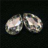 Lágrima de alta calidad brillante claro K9 el punto de vuelta las piedras de fantasía de cristal