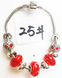 Armband Ref van de Charme DIY van vrouwen de Echte Zilveren Geplateerde Met de hand gemaakte: P 025