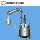 100L 500L 10000L industriel gaine double haute pression en acier inoxydable brassé continu agité de la résine chimique du réservoir de bioréacteur pilote réacteur de dépression des prix