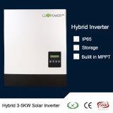 Ibrido a energia solare 3-5kw di memoria per l'invertitore del sistema domestico