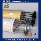 Tejido de aramida Nomex fieltro con aguja de filtrado de aire Filtro de Media