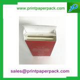 Het aangepaste Document dat van de Druk van het Embleem het Vakje van het Parfum met Binnen vouwt