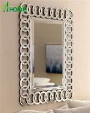 Miroir à la maison décoratif élégant respectueux de l'environnement de mur de l'entrée 3D de qualité
