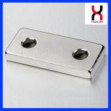 Super Sterke Magneet 20*10*2mm van het Blok van de Magneten van de Voorraad van de Vlek
