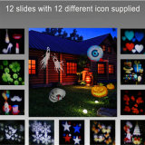 エルフのクリスマスの屋外および屋内防水装飾Xmasの星LEDの取り外し可能なフィルムの投射ライト