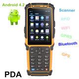 Lecteur de code à barres raboteux sans fil PDA androïde Ts-901