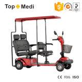 Im Freien Doppelsitz-Mobilitäts-Roller mit Markise mit Cer ISO