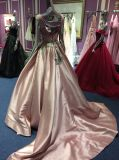 A Line / Princess Satin Evening Dress for Wedding