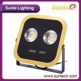 정연한 노란 검정 150W IP67 LED 플러드 점화 (SLFO115)