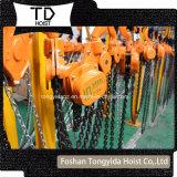 Alzamiento de cadena manual de 2 toneladas, alzamiento de cadena de elevación/alzamiento de cadena de la mano