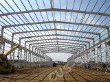 アフリカの工場鋼鉄研修会ライト鉄骨構造の建物
