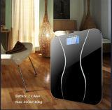 Balanza digital baño corporal con un peso de una balanza electrónica