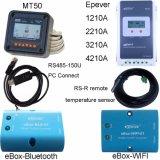 Potência solar Controller+Ce+Rhos 1210A de MPPT LCD 10A 12V/24V