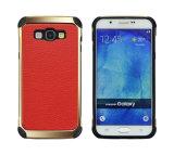 Het klassieke Rijke Geval van de Telefoon van het Leer van de Textuur Pu voor Samsung J7