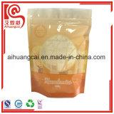 Plastikmit reißverschlußbeutel mit Drucken für das Nuts Verpacken